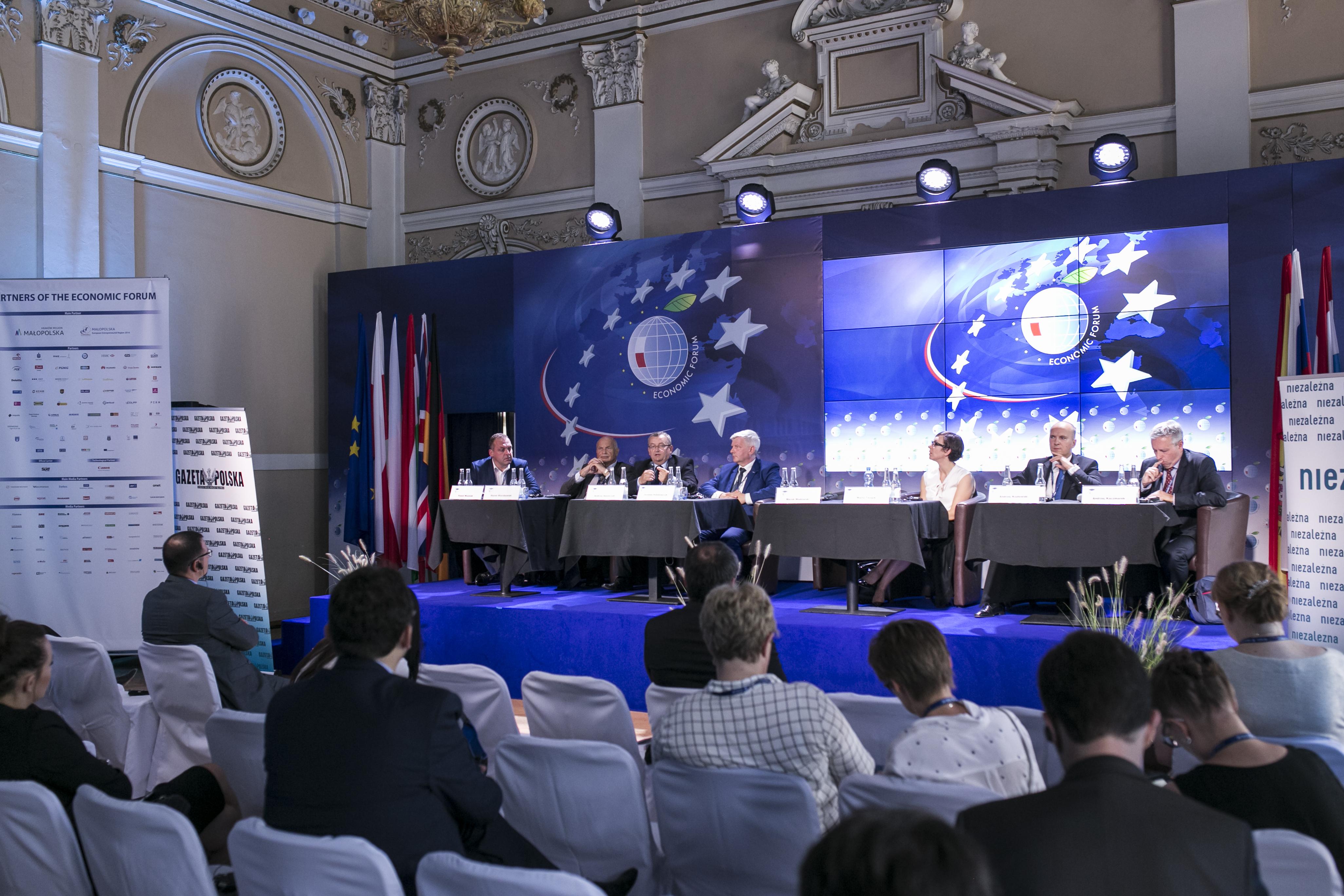 Forum Ekonomiczne 2016 - Nowa perspektywa finansowania inwestycji infrastrukturalnych szansą dla rozwoju infrastruktury transportowej i energetyki