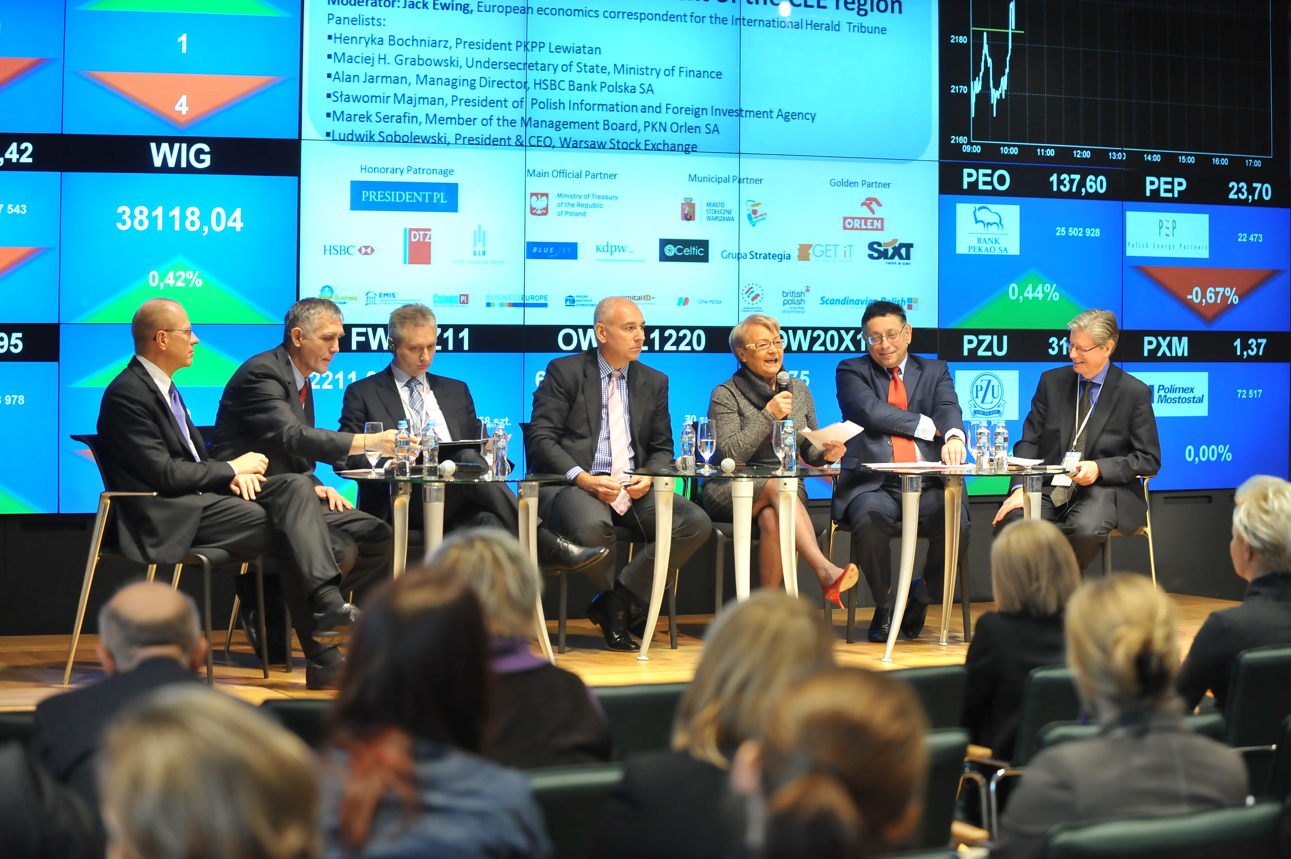 Konferencja Warsaw CEE Financial Hub 2011