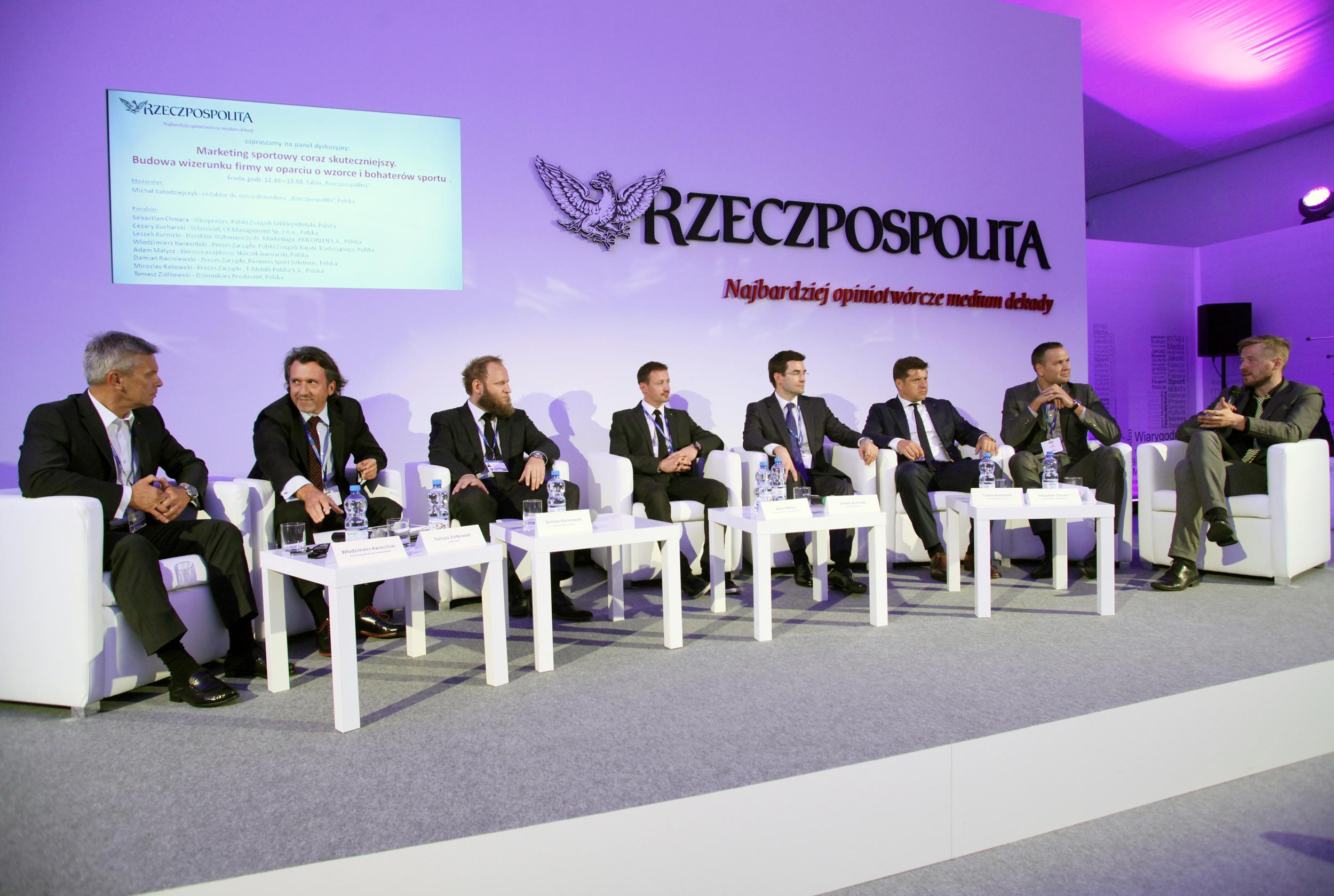 FE w Krynicy 2014 - Marketing sportowy coraz skuteczniejszy. Budowa wizerunku firmy w oparciu o wzorce i bohaterów sportu.