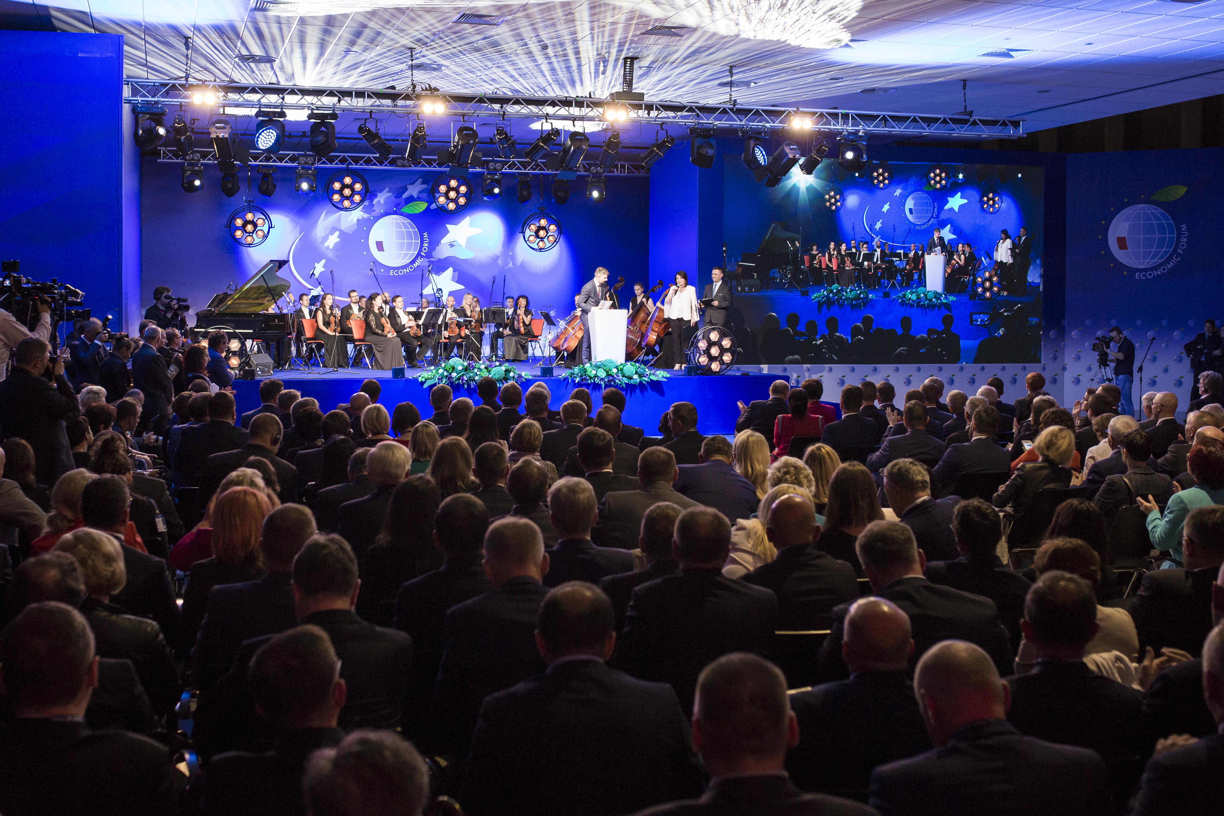 Gala wręczenia nagród XXVII Forum Ekonomicznego